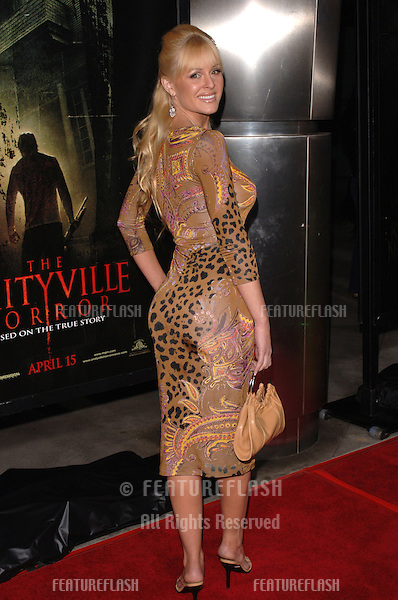 Actress KATIE LOHMANN at the world premiere, in Hollywood, of The Amityville Horror..April 7, 2005 Los Angeles, CA..© 2005 Paul Smith / Featureflash