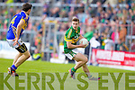 James O'Donoghue, Kerry in action against Ciaran McDonald, Tipperary in the first round of the Munster Football Championship at Fitzgerald Stadium on Sunday.