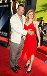 """Actor Brian Thompson and Sharon Brown arrive at the The World Premiere of """"The X-Files: I Want To Believe"""" at Mann's Grauman Chinese Theatre on July 23, 2008 in Hollywood, California."""