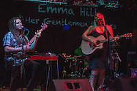 "Emma Hill and her musical partner of eight years, Bryan Daste, perform during the release party for Emma's ""Ten Years"" album at Taproot."