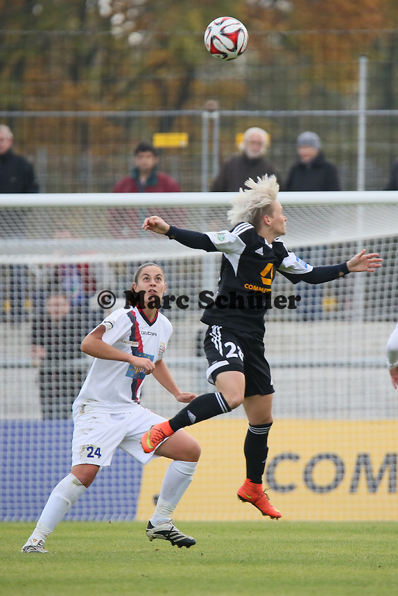 Jessica Fishlock (FFC) - 1. FFC Frankfurt vs. ASD Torres Femminile, UEFA Champions League Achtelfinal Hinspiel, Stadion am Brentanobad