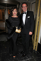 Dame Joan Collins, Percy Gibson at the Shooting Star CHASE Ball, The Dorchester Hotel, Park Lane, London, England, UK, on Saturday 30 September 2017.<br /> CAP/CAN<br /> &copy;CAN/Capital Pictures /MediaPunch ***NORTH AND SOUTH AMERICAS ONLY***