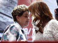 """SÃO PAULO, SP, 09.12.2016 - CONFERÊNCIA-SP - A ex-presidente Dilma Rousseff durante a conferência """"A luta politica na América Latina de Hoje"""", na Casa de Portugal, na noite desta sexta-feira, 09.   (Foto: Adriana Spaca/Brazil Photo Press)"""