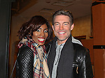 """As The World Turns' Judson Mills """"Frank Farmer"""" and Naomi C. Walley """"Naomi Marron"""" star in The Bodyguard The Musical on March 4, 2017 at the Hippodrome Theatre in Baltimore, Maryland. Check www.thebodyguardthemusical.com for future performance dates. (Photo by Sue Coflin/Max Photos)"""