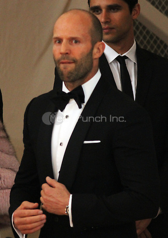 05 02 2016:  Jason Statham at Manus X Machina: Fashion In An Age of Technology at Metropolitan Museum of Art in New York. Credit:RWMediaPunch