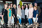 Pictured at Bella Bia restaurant, Tralee on Friday night last as they had a farewell dinner for Liz Gaynor who is leaving Enable Ireland, pictured l-r: Stacey Wallace, Kitty McCarthy, Betty Culloty Paula Henry, Conagh Forbes (Manager of Enable Ireland), Liz Gaynor, Caitriona O'Shea, Eileen Evans, Eddie McCarthy and Catherine McCannon.