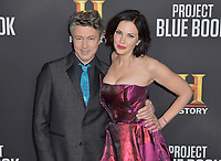 03 January 2019 - Los Angeles, California - Aidan Gillen, Laura Mennell. &quot;Project Blue Book&quot; History Scripted Series Los Angeles Premiere held at Simon House.          <br /> CAP/ADM<br /> &copy;ADM/Capital Pictures