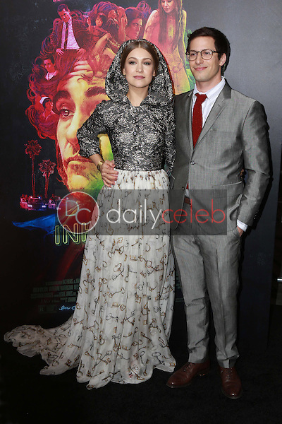 Joanna Newsom, Andy Samberg <br /> at the &quot;Inherent Vice&quot; Los Angeles Premiere, TCL Chinese Theater, Hollywood, CA 12-10-14<br /> David Edwards/Dailyceleb.com 818-249-4998