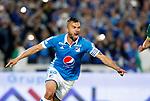 Millonarios venció 2-1 a La Equidad (3-2 en el global). Cuartos de final vuelta Liga Águila II-2017.