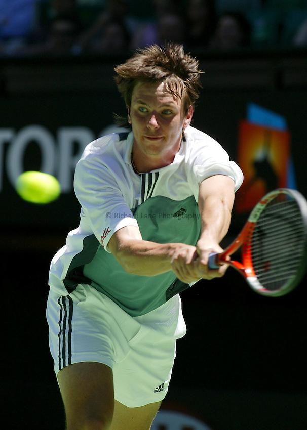 Robin Soderling, Australian Tennis Open 2004, Melbourne, Australia