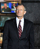 McLean, VA - October 6, 2009 -- Dennis Blair, Director of National Intelligence, looks on as United States President Barack Obama (not pictured) makes remarks during a visit to the National Counterterrorism Center (NCTC) in McLean, VA on Tuesday, October 6, 2009..Credit: Ron Sachs / Pool via CNP