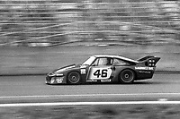 Maurico DeNarvaez, Hurley Haywood, #46 Porsche,  Paul Revere 250, Daytona International Speedway, Daytona Beach, Florida, July 4, 1981. (Photo by Brian Cleary/ www.bcpix.com)