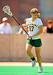 25 April 2009: University of Vermont Catamount midfielder Alison Haigh, a Junior from Northborough, MA, in action against the Stony Brook University Seawolves at Moulton Winder Field in Burlington, Vermont. The Lady Cats defeated the visiting Seawolves 19-11 on Seniors Day, Vermont's last home game of the 2009 season. Mandatory Photo Credit: Ed Wolfstein Photo