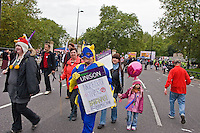 A Future That Works TUC Demo London March from Embankment to Hyde Park 20th Oct 2012