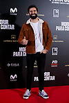 Jorge Cremades attends to 'Morir para contar' film premiere during the Madrid Premiere Week at Callao City Lights cinema in Madrid, Spain. November 13, 2018. (ALTERPHOTOS/A. Perez Meca)