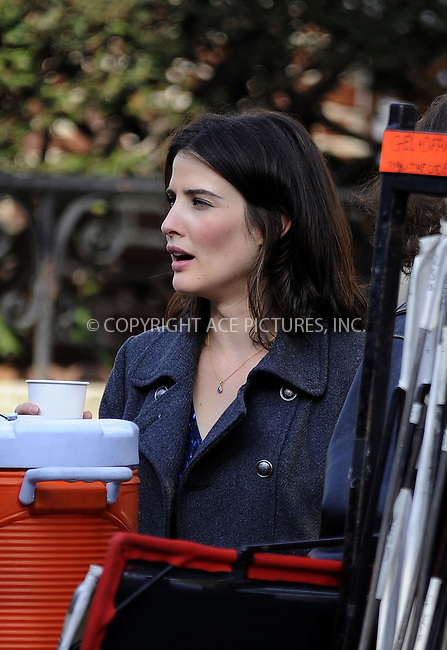 WWW.ACEPIXS.COM....Decemeber 3 2012, New York City....Actress Cobie Smulders was on the set of the new movie 'Delivery Man' on December 3 2012 in New York City......By Line: Curtis Means/ACE Pictures......ACE Pictures, Inc...tel: 646 769 0430..Email: info@acepixs.com..www.acepixs.com