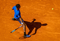 Paris, France, 1 june, 2019, Tennis, French Open, Roland Garros, Geal Monfils (FRA)<br /> Photo: Henk Koster/tennisimages.com