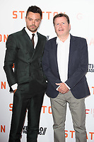 "Dominic Cooper and director, Simon West<br /> at the ""Stratton"" premiere, Vue West End, Leicester Square London. <br /> <br /> <br /> ©Ash Knotek  D3300  29/08/2017"