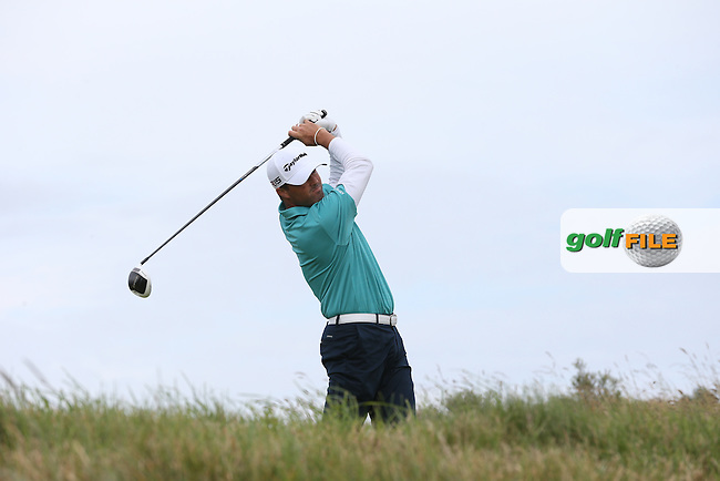Ryan Palmer (USA) during Round Three of the 2015 Aberdeen Asset Management Scottish Open, played at Gullane Golf Club, Gullane, East Lothian, Scotland. /11/07/2015/. Picture: Golffile | David Lloyd<br /> <br /> All photos usage must carry mandatory copyright credit (&copy; Golffile | David Lloyd)