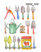Kate, STILL LIFE STILLEBEN, NATURALEZA MORTA, paintings+++++Garden Tools,GBKM308,#i#, EVERYDAY ,sticker,stickers