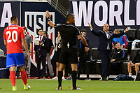 Harrison, NJ - Friday Sept. 01, 2017: John Pitti, Bruce Arena during a 2017 FIFA World Cup Qualifier between the United States (USA) and Costa Rica (CRC) at Red Bull Arena.