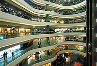 Time Square shopping mall in Causeway Bay, Hong Kong. Time Square is one of the biggest shopping malls in Hong Kong contains many luxury designer brands.
