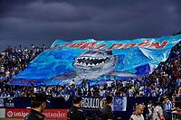 CD Leganes's supporters during La Liga match between CD Leganes and FC Barcelona at Butarque Stadium in Madrid, Spain. September 26, 2018. (ALTERPHOTOS/A. Perez Meca)<br /> Liga Campionato Spagna 2018/2019<br /> Foto Alterphotos / Insidefoto <br /> ITALY ONLY