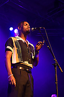 LONDON, ENGLAND - AUGUST 11: BAELY performing at Nile Rodgers' Meltdown at Purcell Room on August 11, 2019 in London, England.<br /> CAP/MAR<br /> ©MAR/Capital Pictures