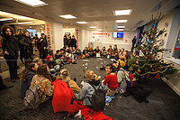 03.12.2014 - Students Occupy Universities UK in Protest Against Marketisation