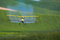 A cropduster in the Palouse region of Washington State.