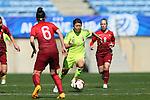Kozue Ando (JPN), <br /> MARCH 6, 2015 - Football / Soccer : <br /> Algarve Women's Football Cup 2015 Group C match <br /> between Japan 3-0 Portugal <br /> at Algarve Stadium in Faro, Portugal. <br /> (Photo by YUTAKA/AFLO SPORT)[1040]