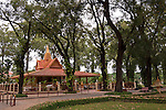 Preah Ang Chek and Preah Ang Chorm Shrine, Royal Independence Gardens, Siem Reap, Cambodia