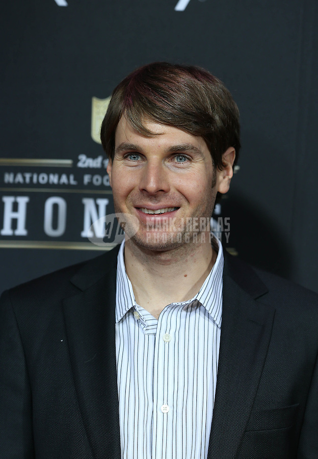 Feb. 2, 2013; New Orleans, LA, USA: Indy Car Series driver Will Power on the red carpet prior to the Super Bowl XLVII NFL Honors award show at Mahalia Jackson Theater. Mandatory Credit: Mark J. Rebilas-USA TODAY Sports