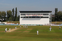 General view of play looking towards the new media centre during Derbyshire CCC vs Essex CCC, Specsavers County Championship Division 2 Cricket at the 3aaa County Cricket Ground on 15th August 2016