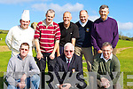 Teeing off at Con Daly President's day in Castleisland Golf course on Sunday morning front row l-r: Liam Martin, Con Daly President, Tom Nix. Back row: Billy O'Connor, TJ Galvin, Jerry Costello, Francis Costello and Danno Dennehy    Copyright Kerry's Eye 2008
