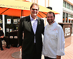 MIAMI, FL - MARCH 02: Chef Allen Susser and John Richard President & CEO of the Arsht Center attends Books & Books at the Arsht Center Grand Opening Ribbon Cutting Ceremony And Party on Thursday, March 02, 2015 in Miami, Florida. ( Photo by Johnny Louis / jlnphotography.com )
