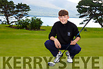 Ryan Kelliher Killarney who won the Kerry Boys Golf Championship in Ballybunion on Friday