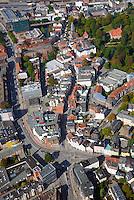 Sachsentor: EUROPA, DEUTSCHLAND, HAMBURG, (EUROPE, GERMANY), 28.09.2014: Bergedorfs Sachsentor vom  Mohnhof bis zum Bahnhof,
