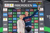 Picture by Allan McKenzie/SWpix.com - 17/05/2018 - Cycling - OVO Energy Tour Series Mens Race Round 3:Aberdeen - JLT Condor's Ed Clancy celebrates the win.