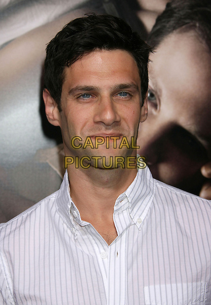 "Justin Bartha.""The Words"" Los Angeles Premiere held at Arclight Cinemas, Hollywood, California, USA..September 4th, 2012.headshot portrait white shirt stripe .CAP/ADM/RE.©Russ Elliot/AdMedia/Capital Pictures."