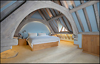 BNPS.co.uk (01202 558833)<br /> Pic: KnightFrank/BNPS<br /> <br /> Pristine Chapel - The answer to your property prayers...<br /> <br /> This heavenly converted church is the perfect sanctuary for anyone who wants a historic home...and doesn't mind living in a graveyard.<br /> <br /> St Bartholomews in Little Packington, Warwicks, was turned into a home in 2000 and has now been put on the market with estate agents Knight Frank for &pound;725,000.<br /> <br /> The quirky property looks so true to its original form that ramblers have been known to wander into its grounds.