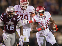 NWA Democrat-Gazette/JASON IVESTER<br /> Arkansas vs Mississippi State on Saturday, Nov. 19, 2016, at Davis Wade Stadium in Starkville, Miss.