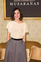 "Nadia Santiago attend the presentation of the movie ""Musaranas"" in Madrid, Spain. December 17, 2014. (ALTERPHOTOS/Carlos Dafonte) /NortePhoto /NortePhoto.com"