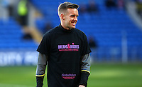Craig Noone of Cardiff City prior to kick off of the Sky Bet Championship match between Cardiff City and Brighton and Hove Albion at The Cardiff City Stadium, Wales, UK. Saturday 04 December 2016