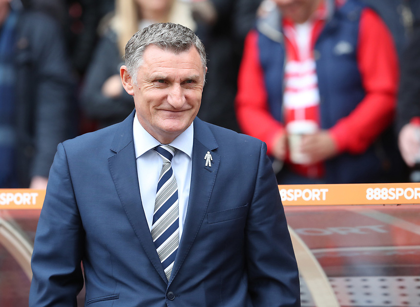 Blackburn Rovers Manager Tony Mowbray<br /> <br /> Photographer Rachel Holborn/CameraSport<br /> <br /> The EFL Sky Bet Championship - Nottingham Forest v Blackburn Rovers - Friday 14th April 2016 - The City Ground - Nottingham<br /> <br /> World Copyright &copy; 2017 CameraSport. All rights reserved. 43 Linden Ave. Countesthorpe. Leicester. England. LE8 5PG - Tel: +44 (0) 116 277 4147 - admin@camerasport.com - www.camerasport.com