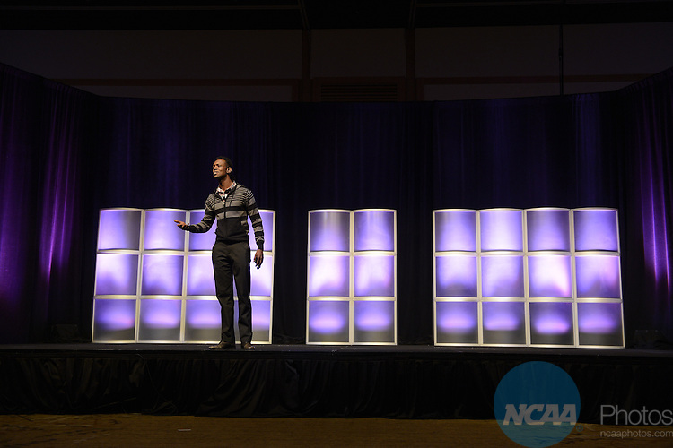 16 JAN 2014: The Association Lunch Program during the 2014 NCAA convention held in San Diego, CA. Justin Tafoya/NCAA Photos (Pictured: Chris Walker)
