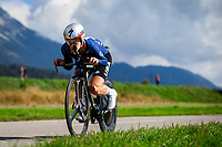 Picture by Alex Whitehead/SWpix.com - 25/09/2018 - Cycling - UCI 2018 Road World Championships - Innsbruck-Tirol, Austria - Junior Men's Individual Time Trial - Riley Sheehan of USA.