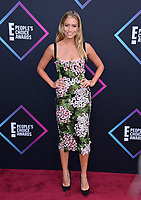 LOS ANGELES, CA. November 11, 2018: Renee Bargh at the E! People's Choice Awards 2018 at Barker Hangar, Santa Monica Airport.<br /> Picture: Paul Smith/Featureflash