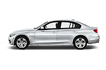 Car Driver side profile view of a 2016 BMW 3 Series 328i 4 Door Sedan Side View