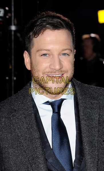 MATT CARDLE.A Night Of Heroes: The Sun Military Awards, Imperial War Museum, Lambeth Road, London, England,.15th December 2010.the millies headshot portrait blue tie grey gray beard facial hair x factor.CAP/WIZ.© Wizard/Capital Pictures.